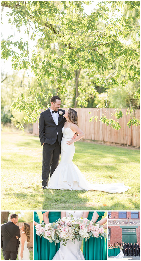 Andrew + Jessie Wedding Photos and Highlight Film | Rusty Rail Brewing Co.