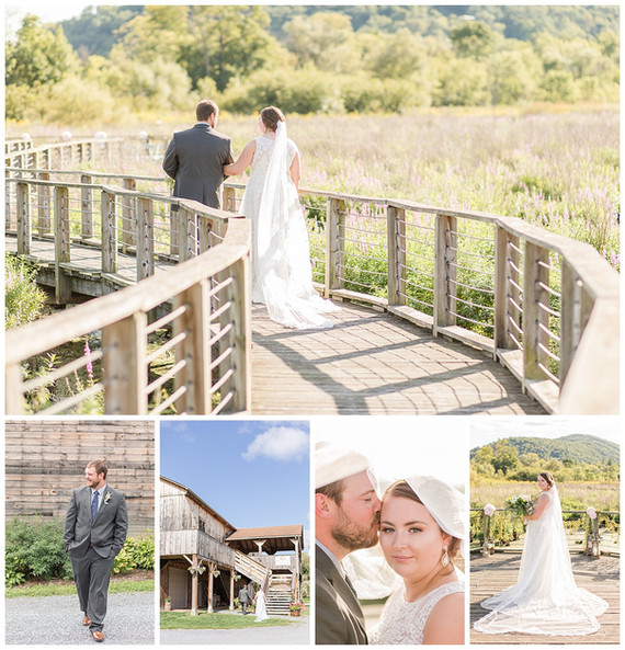 Brandon + Jordan's Wedding Photos and Video | The Historic Barn at Cooke Tavern
