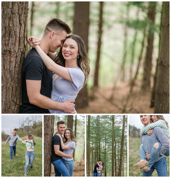 Taylor and Marisa's 5 Year Anniversary | Hillman State Park, PA