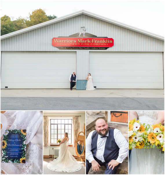 Walt + Kayte Wedding | Warriors Mark Fire Hall