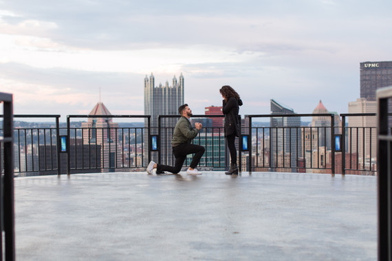 Jimmy + Alanna's Surprise Proposal on Mount Washington