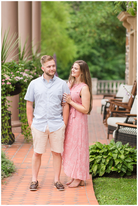 Janelle + Jacob Engagement | Moonstone Manor