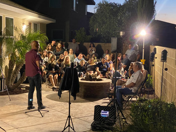 Private Event in Eastvale, CA.