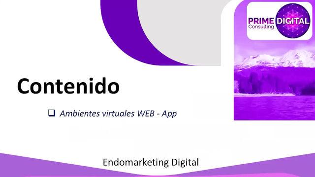 Ambientes virtuales en Web / App