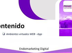 Ambientes virtuales en Web / App. Ver más...