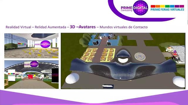 Escenarios 3D - para endomarketing