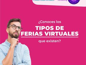 ¿Qué tipos de ferias virtuales existen? Vermás...