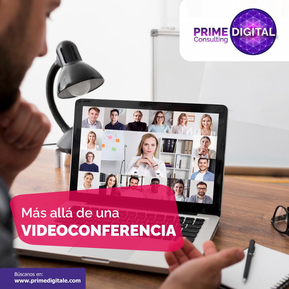 Congresos virtuales en Prime Digital, portada de blog