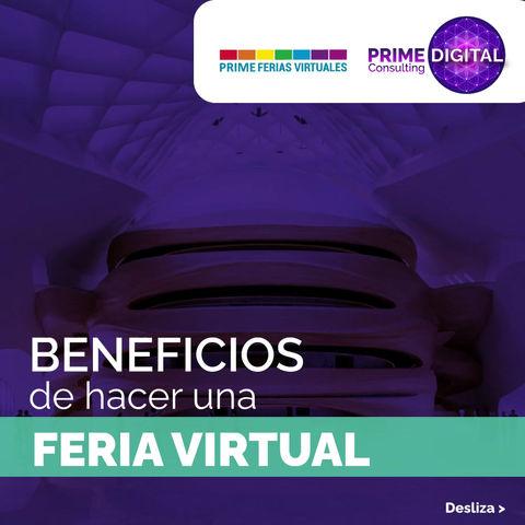 Beneficios de hacer una Feria / Expo virtual