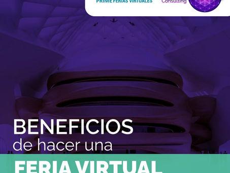 Beneficios de hacer una Feria / Expo virtual. Ver más...