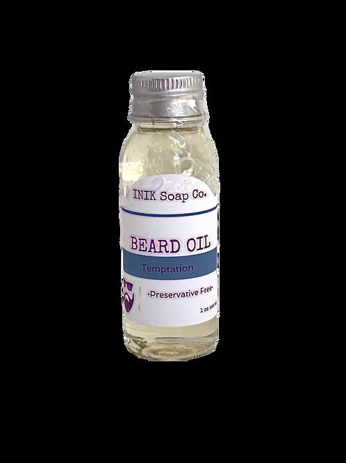 Inik Soap Co- Beard Oil Temptation