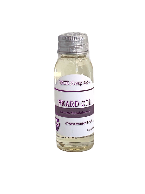 Inik Soap Co- Beard Oil Satara Sandalwood
