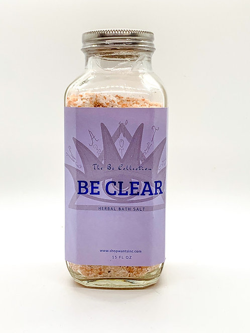 The Be Collection - Be Clear