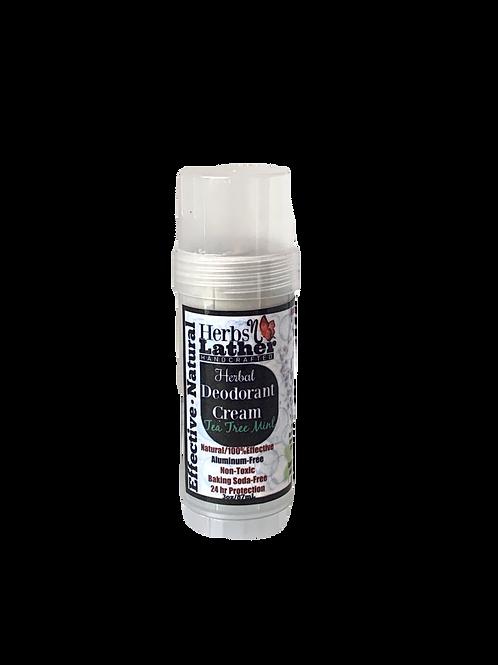 Herbs N Lather- Herbal Deordorant Cream- Tea Tree Mint
