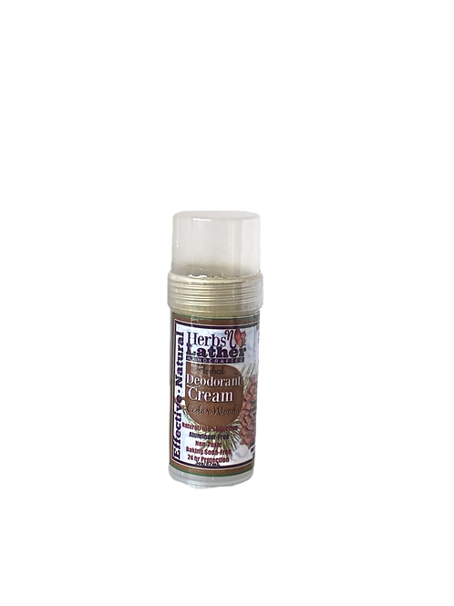 Herbs N Lather- Herbal Deordorant Cream- Cedar Wood