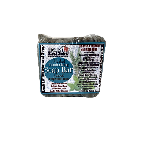 Herbs N Lather- Naked Soap Bar Extra Large