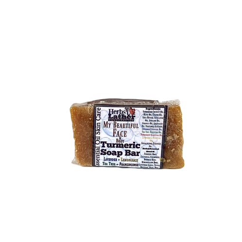 Herbs N Lather- Turmeric Face Soap