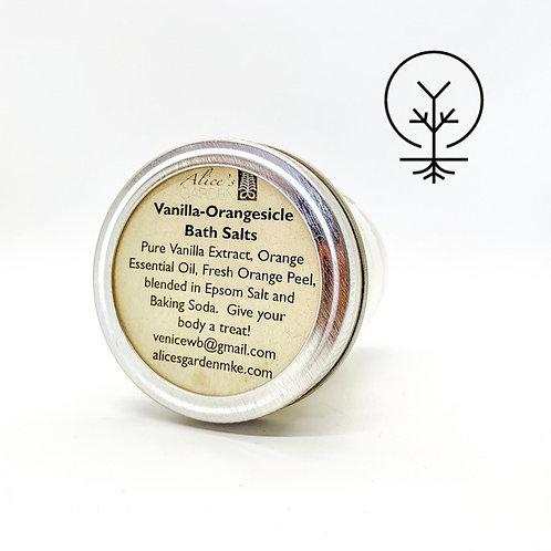 Alices Garden- Vanilla-Orangesicle Bath Salts
