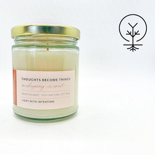Blossom Candle Co- Mahogany Coconut