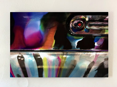"""""""Ink-Stochastic 6"""" Limited Edition Metal Print"""
