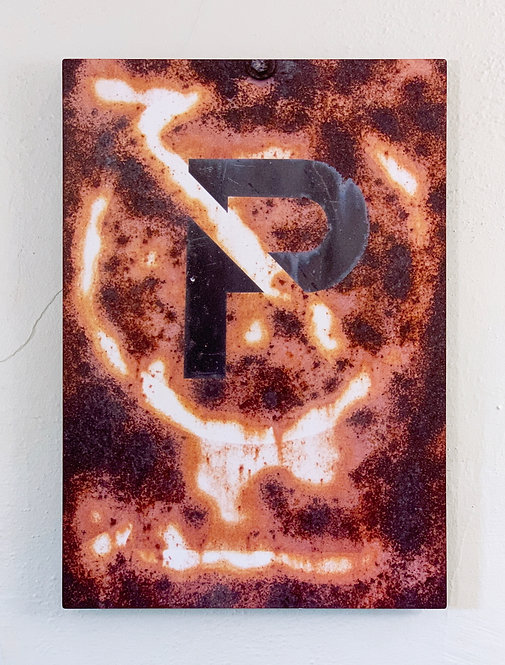 """Rust-Stochastic 2"" Limited Edition Metal Print"
