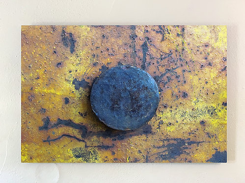 """Rust-Stochastic 3"" Limited Edition Metal Print"