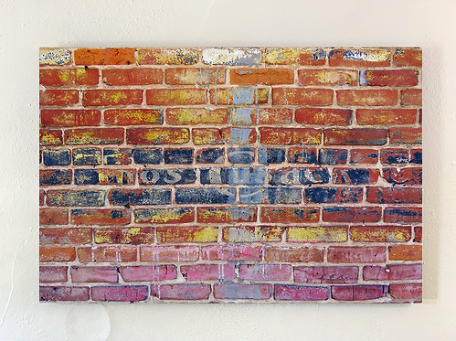 """Wilmington Brick"" Limited Edition Metal Print"