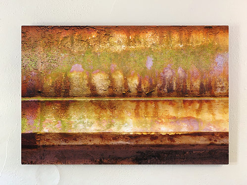 """""""Rust-Stochastic 4"""" Limited Edition Metal Print"""