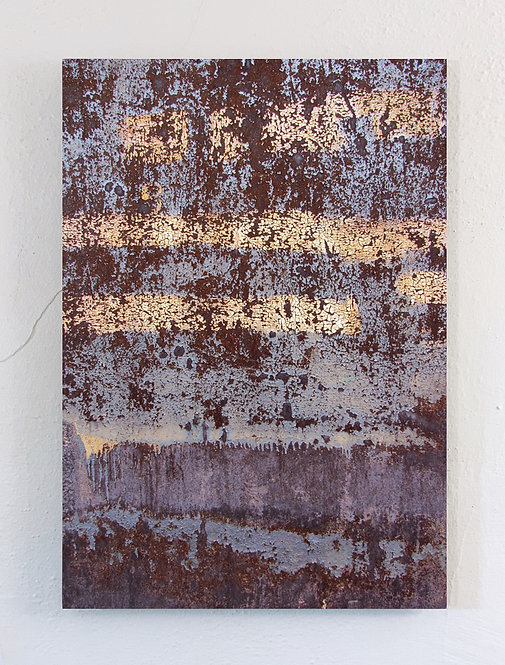 """""""Rust-Stochastic 1"""" Limited Edition Metal Print"""