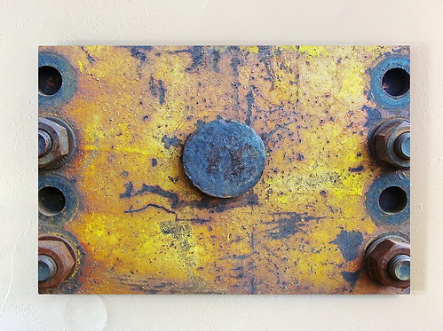"""Rust-Stochastic 6"" Limited Edition Metal Print"