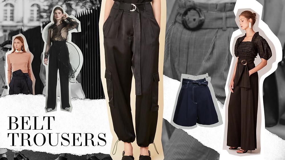 Belt Trousers