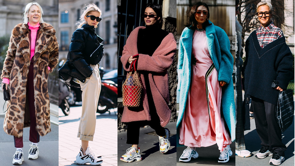 Chunky sneakers trend