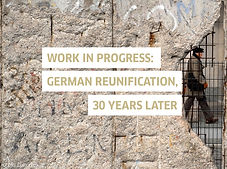 """Work in Progress: German reunification, 30 years later."" With Marion Brasch, Max Czollek, u.a."