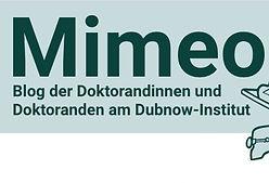 Unkündbare Beziehungen (Mimeo, Dubnow-Institut)