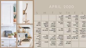 sustainability calendar