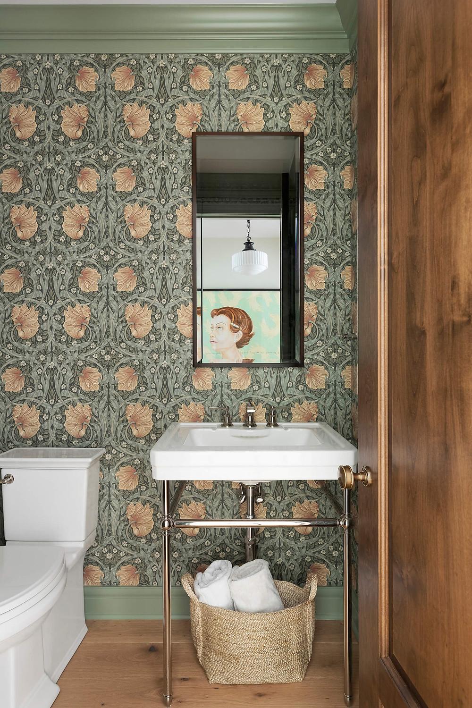 William Morris Pimpernel Wallpaper