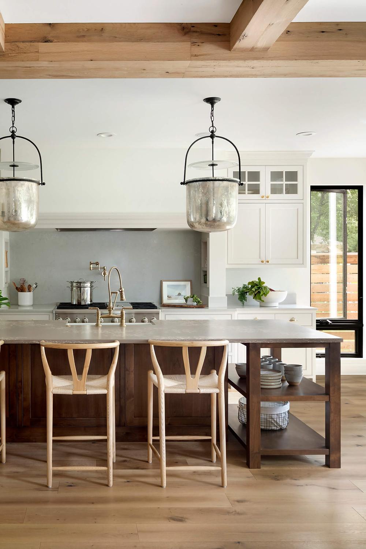 10 unique kitchen cabinet trends, mantel replica