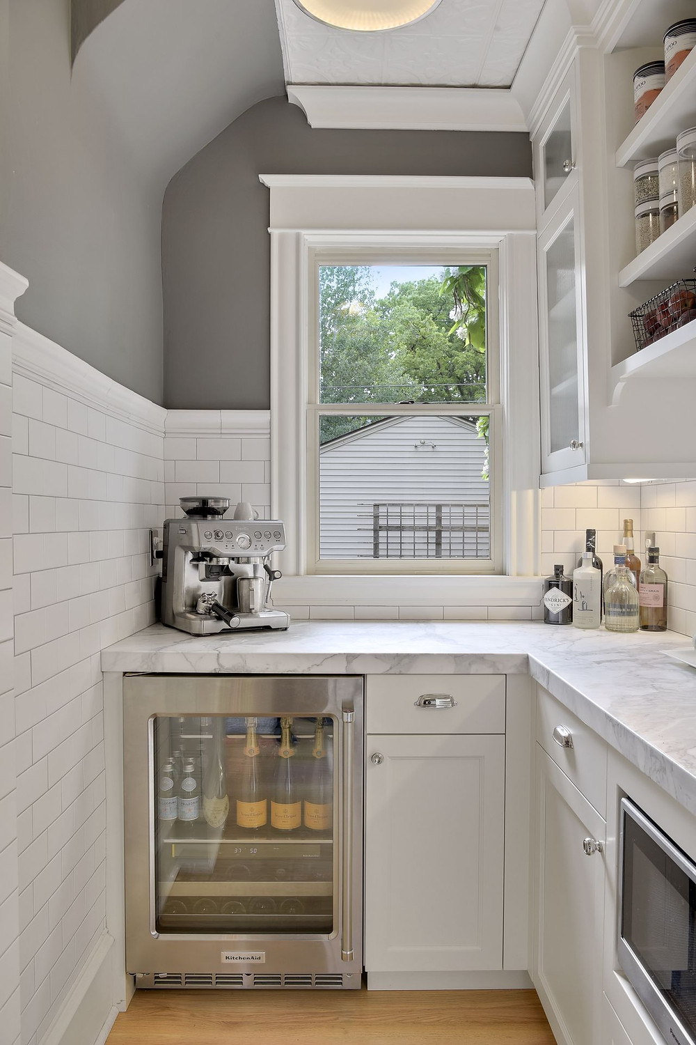 Custom cabinetry for small pantry storage solutions