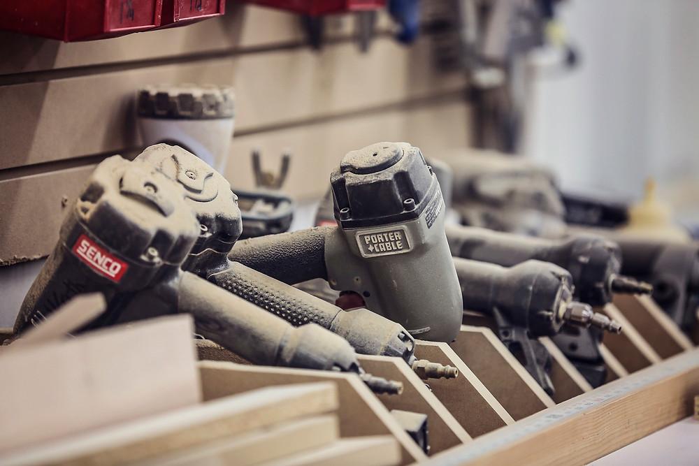Behind the Scenes Shop Tools