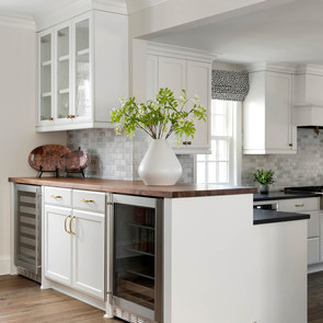 White Custom Cabinetry