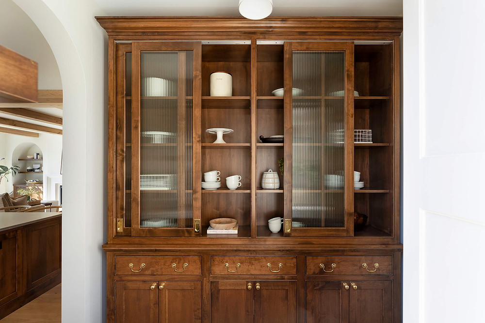 Unique details in custom cabinetry