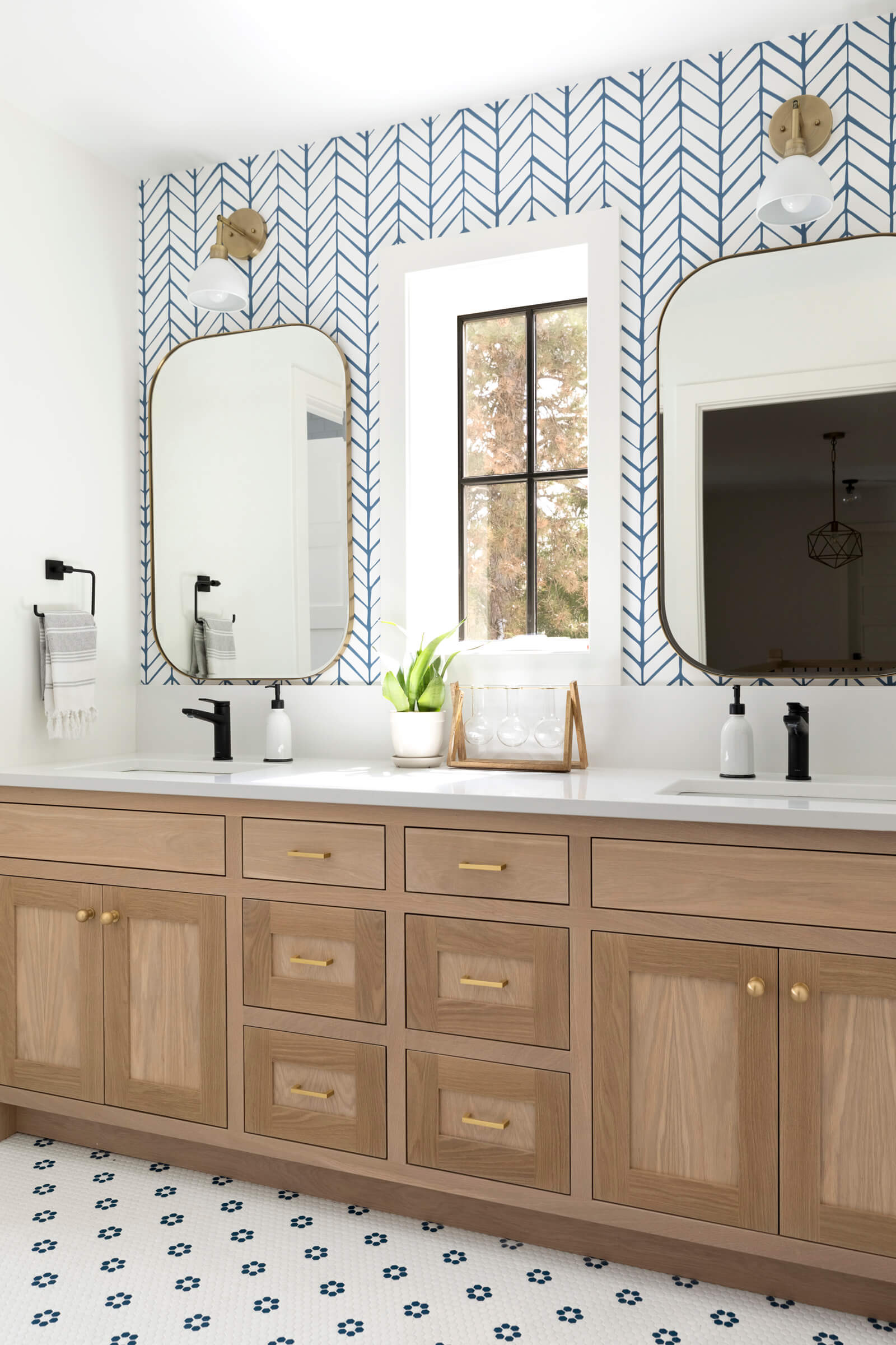 Drew Ave Project Kids Bathroom Bedrooms Reveal