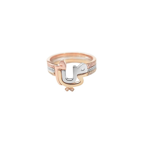 TRIO RINGS with Three Characters
