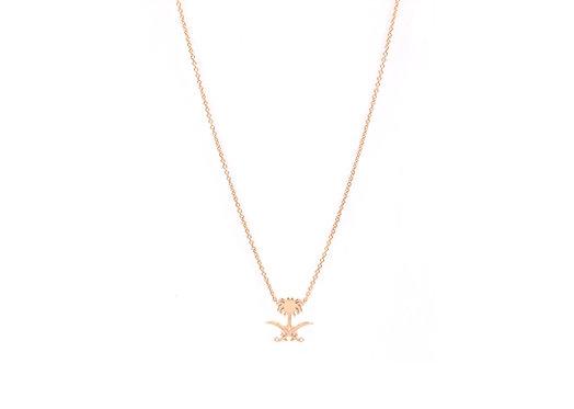 Saudi Emblem Necklace