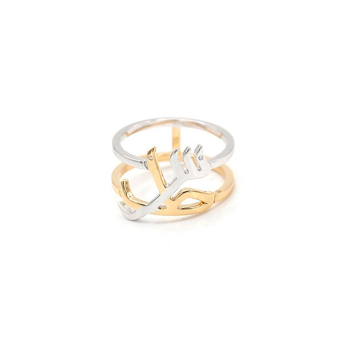 Double Banded Rings- Plain