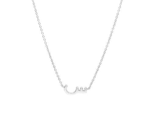 One Letter Necklace- Plain
