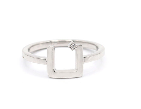 One Letter CLOSED Ring