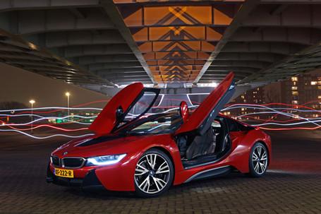 Night shoot BMW i8 - Ekris BMW
