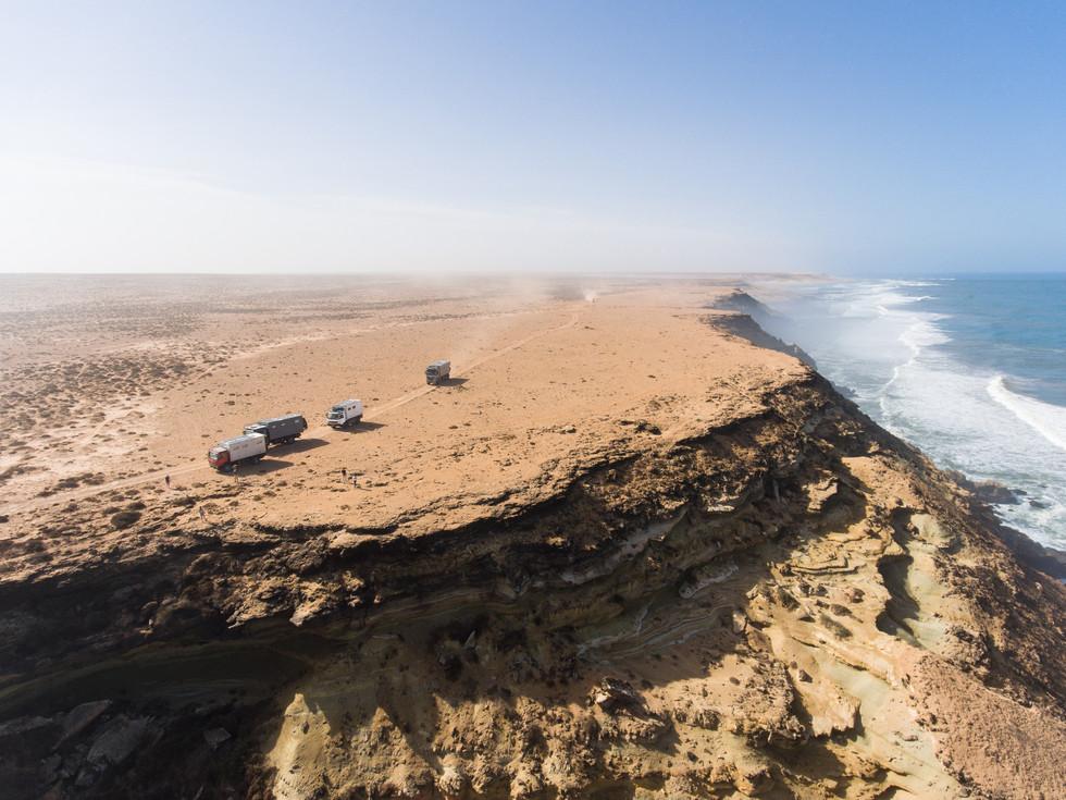 Atlantic coastline Morocco