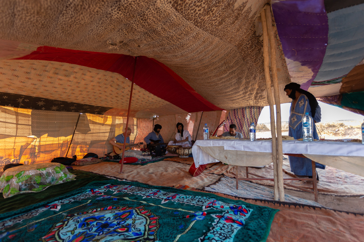 Moroccan nomad tent